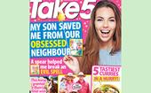 Take 5 Issue 24 Online Entry Coupon