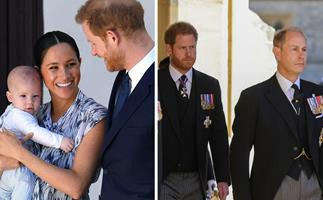Prince Harry, Duchess Meghan, Prince Edward