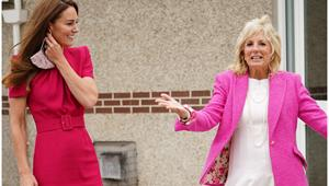 Duchess Catherine's whirlwind weekend with the Bidens included THIS fashion-first moment with the First Lady