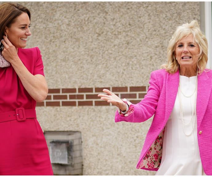 Kate Middleton, Jill Biden