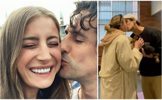 You know it's serious when... Andy Lee & Bec Harding just took a very exciting (and very cute!) next step in their relationship