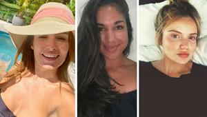 All natural Summer Babes! The beauties of Home and Away look effervescent in their makeup-free glory