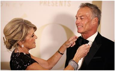 From the east to west: A look back at the sweet romance between long distance lovers Julie Bishop & David Panton