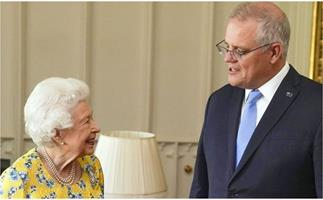 Scott Morrison made an attempt at casual flattery when he met the Queen - so what did Her Majesty think?