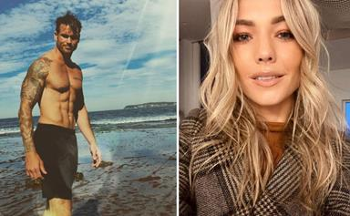 Home & Away's Sam Frost opens up to her new cast member Nicholas Cartwright as they bond on set