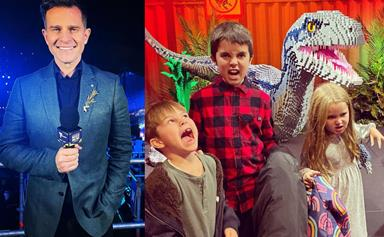 David Campbell's kids may be following in his footsteps, or rather, taking over his role on Today Extra