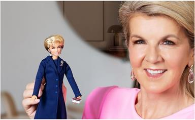 In an empowering win for women across Australia, Julie Bishop just launched her own Barbie doll - and yes, she has the perfect outfit