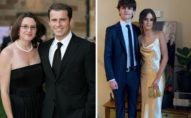Belle of the ball! Karl Stefanovic and Cassandra Thorburn's daughter Willow dazzles at her first school formal