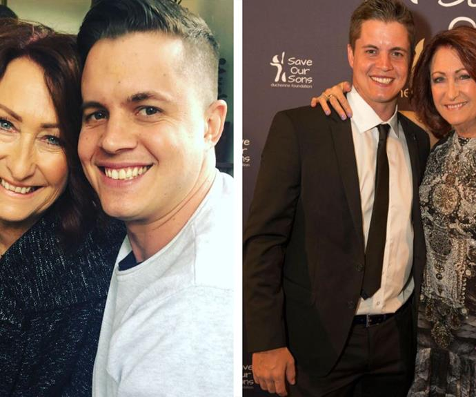 """""""I love him to death:"""" Inside the unflappable relationship between Johnny Ruffo and Lynne McGranger"""