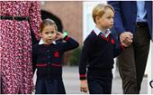 Surprise! Prince William makes a rare appearance on Father's Day with his two eldest kids, Prince George and Princess Charlotte