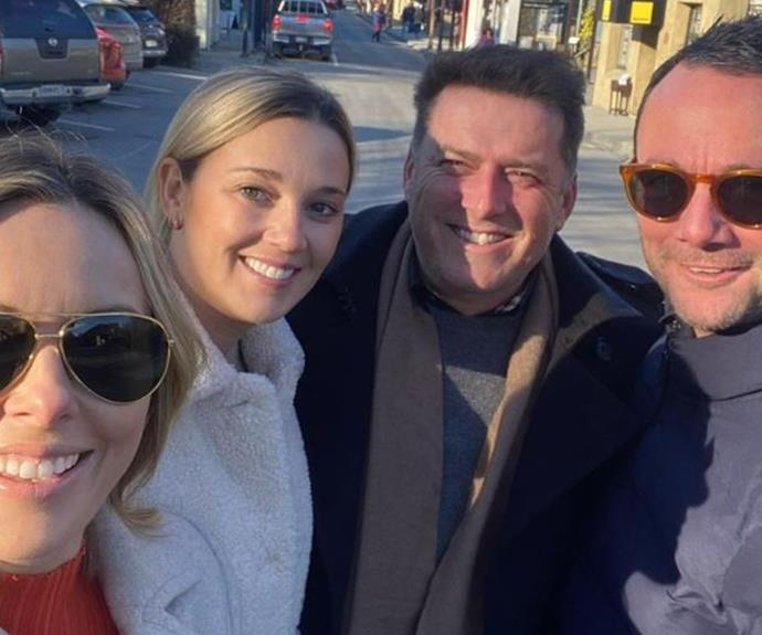Today Show stars Karl Stefanovic and Ally Langdon just went on tour to New Zealand for the ultimate double date