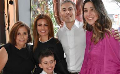 Ada Nicodemou and her loved ones reunited for a special milestone, and one thing is clear - this family has some strong genes