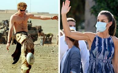 From Prince Harry's cheese grater abs to Queen Letizia of Spain's insane biceps: here are 13 secretly ripped royals
