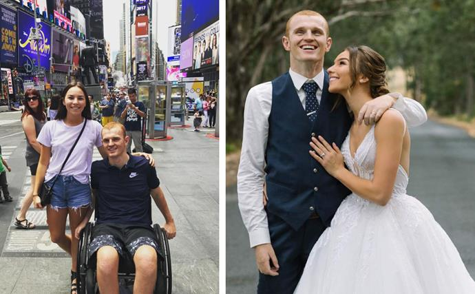 Inside the pure and powerful love story of Alex and Teigan McKinnon