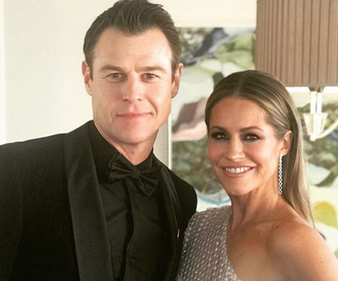 Rodger Corser's wife penned a touching tribute as he marks the end of Doctor Doctor and his response was hilarious