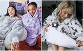 A hug in a blanket: couch time just reached a whole new level with these cute and cosy hooded blankets