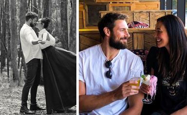 Megan Gale and Shaun Hampson's relationship proves that sometimes, slow burns turn to fireworks