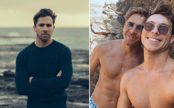 Hugh Sheridan reveals they are non-binary in a gorgeous shoot with fiancé Kurt Roberts