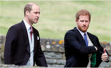 Prince Harry makes a surprise 'appearance' after touching down in the UK - and his brother William is top of mind