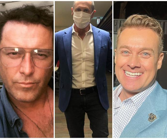 Grant Denyer & Karl Stefanovic's hilarious (and very public!) quips to Larry Edmur have given us life