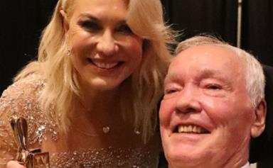 Kerri-Anne Kennerley pays tribute to her late husband after stumbling upon one of their favourite memories