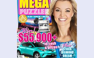 Take 5 Mega Puzzler Issue 66 Online Entry Coupon