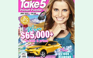 Take 5 Pocket Puzzler Issue 203 Online Entry Coupon
