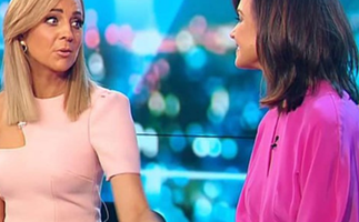 Has Carrie Bickmore fired back in the wake of Lisa Wilkinson's lucrative new TV deal?