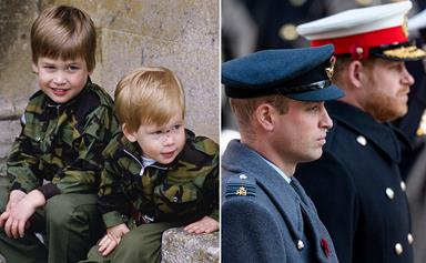 Prince William and Prince Harry's relationship through the years: From brothers in arms to royals at odds