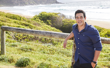EXCLUSIVE: James Stewart on becoming a ''monster'' and watching Home And Away with his daughter Scout