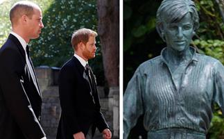 This sweet 1993 moment between Prince Harry, Prince William and Princess Diana inspired Diana's 60th birthday statue