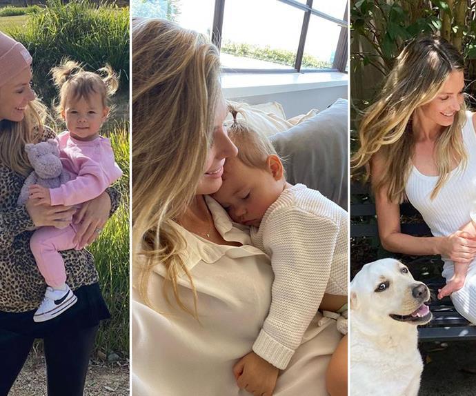 Jennifer Hawkins' daughter Frankie