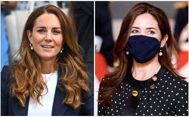 Duchess Catherine twinned outfits with Princess Mary within the same week - so there's our new winter trend
