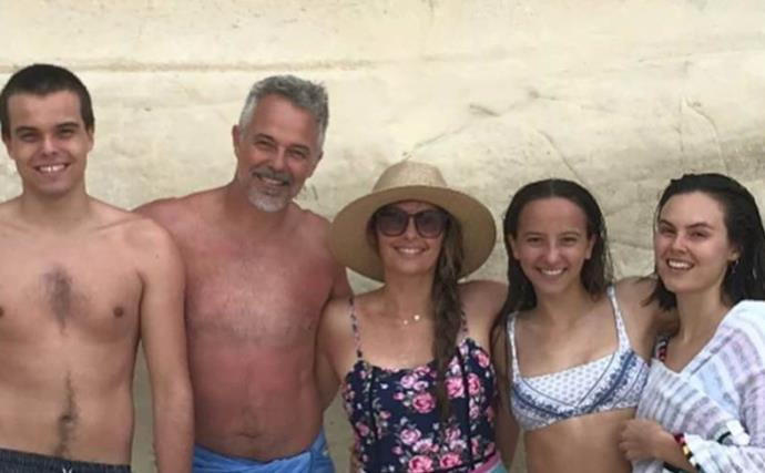 Cameron Daddo is a doting dad as he shares a rare picture with his daughter Bodhi