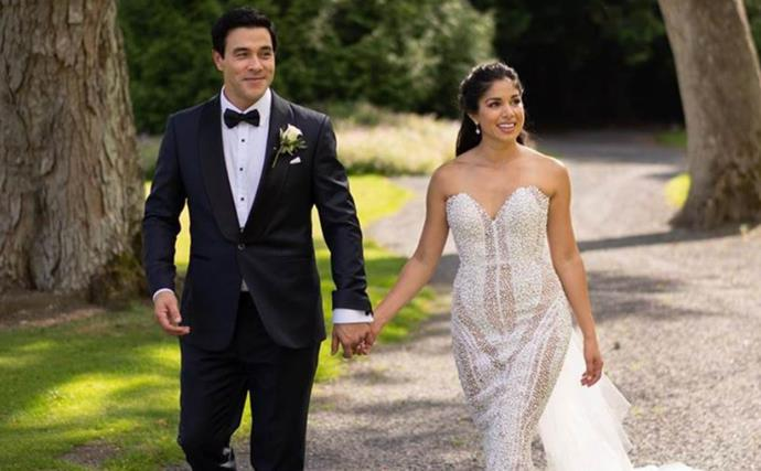These stunning never-before-seen pictures from Sarah Roberts and James Stewart's wedding day prove no detail was spared
