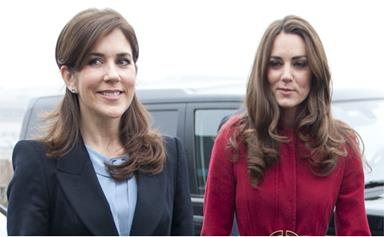 Crown Princess Mary is set to reunite with the British Royals today - but there'll be one major person missing