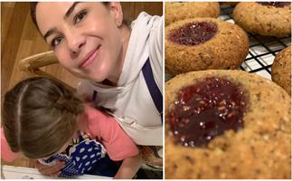 Kate Ritchie's lockdown activities included the sweetest baking date with daughter Mae
