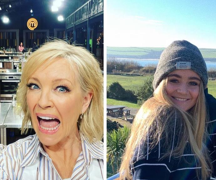 Rebecca Gibney gushes over Tilly Ramsay after developing a mother/daughter bond on the set of Celebrity MasterChef