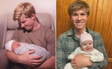 """""""Uncle life is just the best"""": Why Robert Irwin can't get enough of his niece Grace Warrior"""