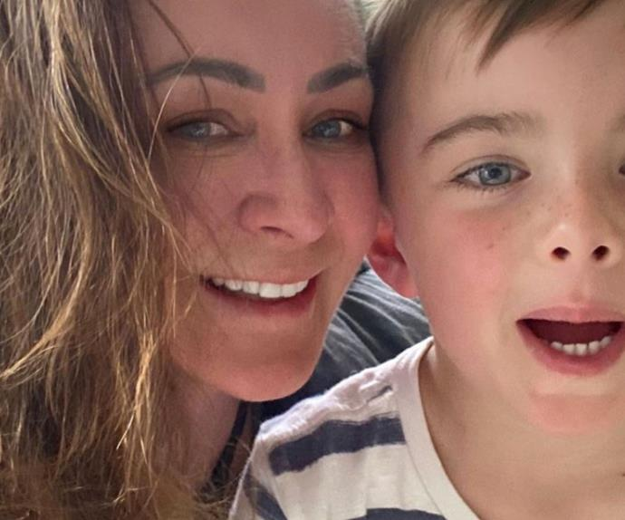 """Michelle Bridges admits she was wrong for giving out """"naive"""" advice when she welcomed her son"""