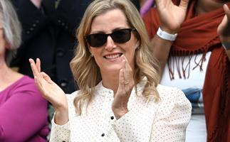 Sophie of Wessex continues her fashion streak at Wimbledon by wearing our dream transeasonal dress to the Royal Box