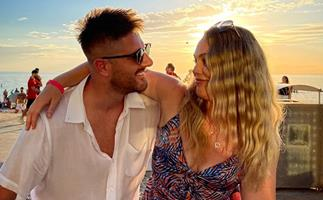 """""""It's twins & we're engaged!"""": MAFS' Melissa and Bryce share their exciting news after a rocky on-screen romance"""