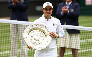 The touching detail hidden in Ash Barty's winning Wimbledon outfit will melt your heart