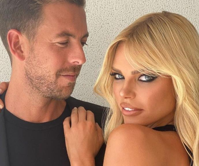The unique way Sophie Monk attempts to get her fiancé's attention takes inspiration from the wild