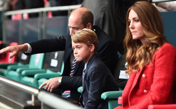 Prince William, Prince George, Kate Middleton