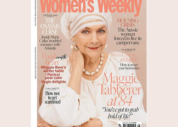 The Australian Women's Weekly August Issue Online Entry