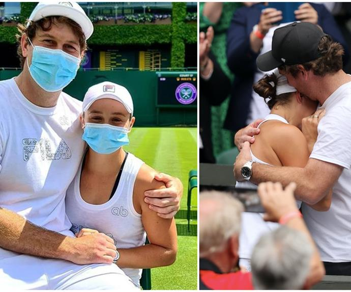 """""""She's over the moon!"""" Are wedding bells ringing for tennis legend Ash Barty?"""