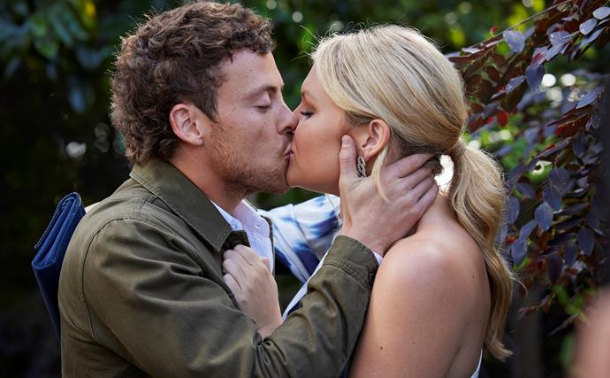 Home & Away set to plunge into a messy love triangle as Ziggy and Dean steal a kiss - how will Tane react?