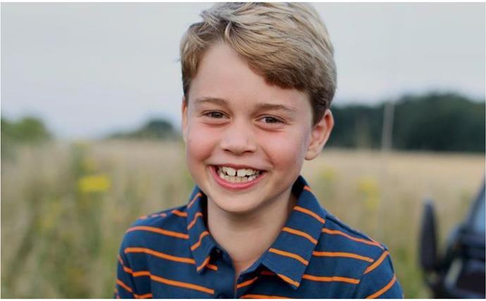 Prince George turns eight