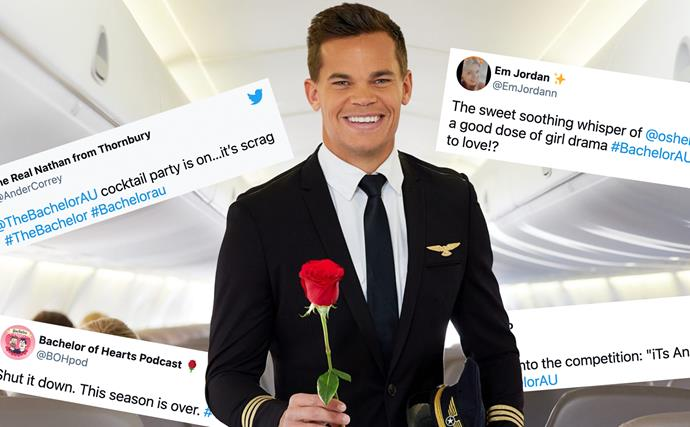"""""""Hope someone got fired for that blunder"""": Twitter's hilarious reactions to the first episode of The Bachelor 2021"""